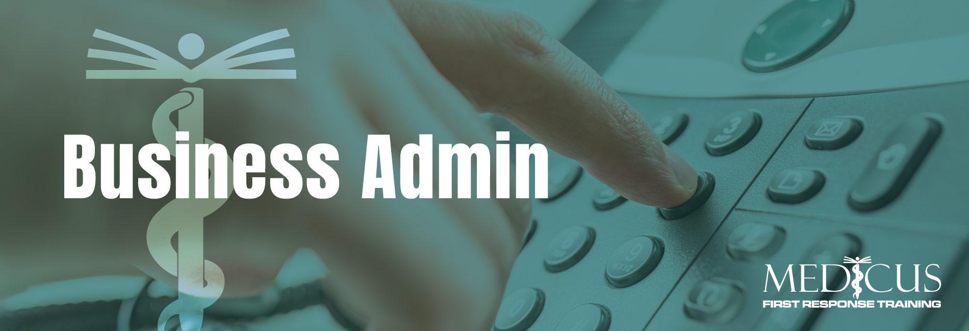 Medicus-Training-Carmarthen-Services-Business-Admin